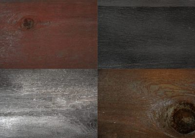 Eco Wood Stain Colour Chart