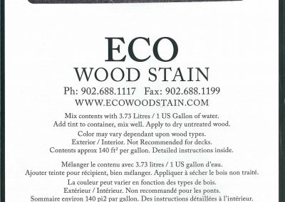 eco wood stain 1 gallon weathered wood