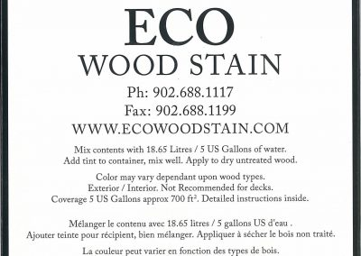 eco wood stain 5 gallon weathered wood